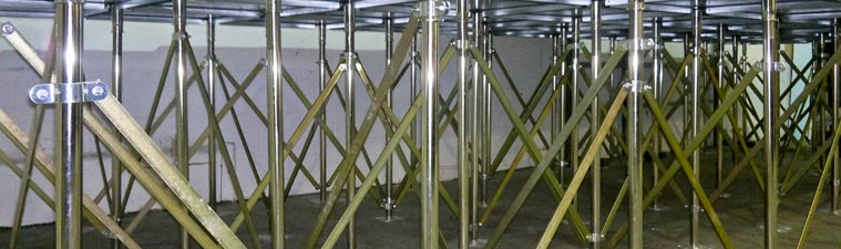 raised access floor testing